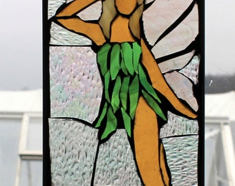 Little Fairy Stained Glass Mosaic