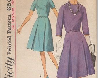 Simplicity 5581 1960's Dress