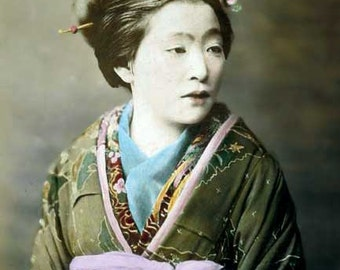 Japanese woman image