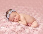 Newborn halo , newborn headband, newborn photo prop, newborn girl, newborn girl prop, newborn lace headband, newborn pearls headband