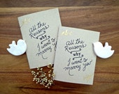Bride Groom vow books. wedding vow books. All the reasons why I want to marry you. Wedding ceremony. VB428