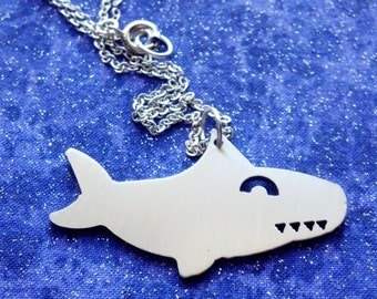 Shark - Necklace Pendant or Keychain