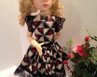 Talyssa in her Surprise Spring Dress for MSD size girls