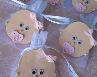 Baby Girl baby shower party favor bags 10 pieces