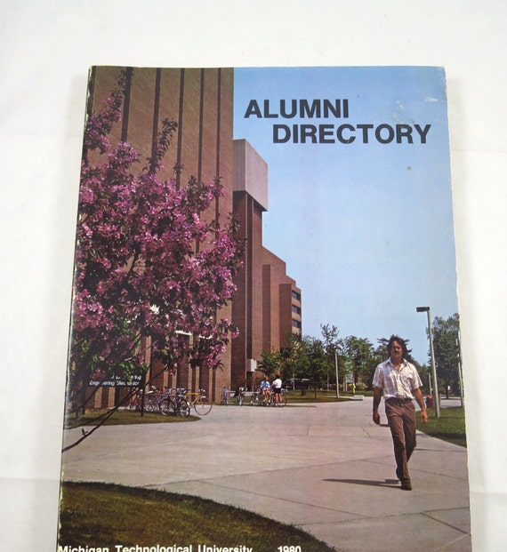 Michigan Technological University: Items Similar To Vintage Michigan Tech University Alumni