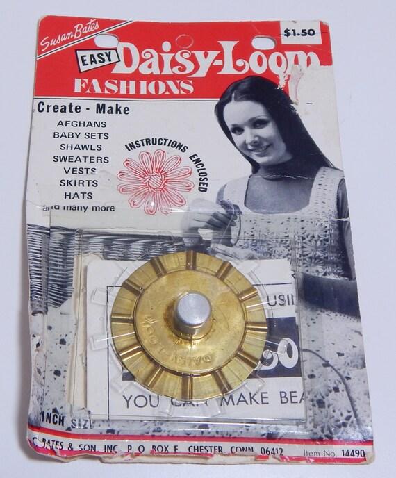 Vintage Susan Bates Daisy Loom Fashion DIY Loopy Flower Maker