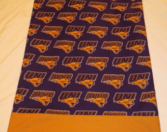 UNI Panthers Pillowcase/Travel Size Pillowcase-Great for Alumni, Fans, Dorm Rooms