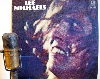"ON SALE Lee Michaels Vinyl LP Record Album Vintage 1960s Psychedelic Rock and Roll Classic Rock Hammond Organ Live in studio""Lee Michaels""(1"