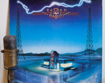 "ON SALE Journey (Neal Schon and Steve Perry) Vinyl Record LP ""Raised On Radio""(Superclean 1986 Cbs w/""Girl Can't Help It"",""Be Good To Yourse"
