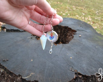 Iris Opalite Pendulum
