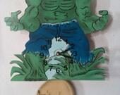 The Hulk Children's pendulum wall clock