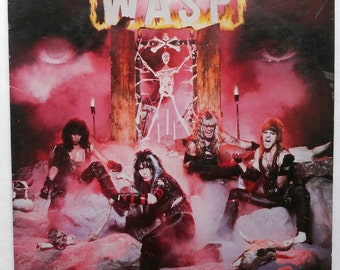 Rare W.A.S.P Album (1984) Heavy Metal - Good/Very Good Condition