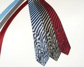 Melting Stripes Necktie - Men's Tie - Men's Gift - Striped Tie - Unique Men Gifts - Odd Strange Weird