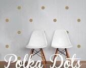 Dots Wall Decals - Polka Dot Stickers - Geometric Confetti Wall Decal WAL-GEO1