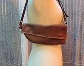 Leather Hipster Bag