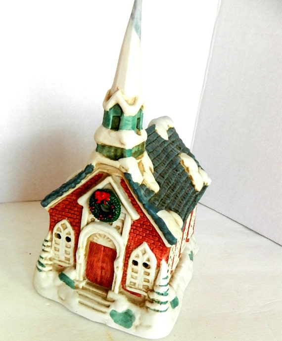 Ceramic Houses With Lights Ceramic Lighted Christmas