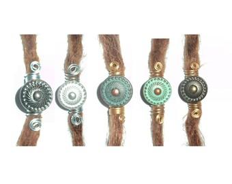 buy 3 and get 1 extra for free: mandala dreadlock bead