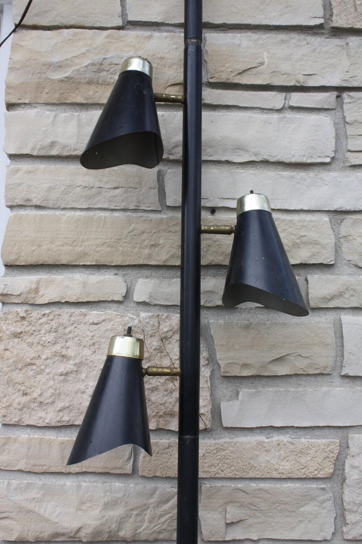mid century modern tension pole lamp floor lamp by cybersenora. Black Bedroom Furniture Sets. Home Design Ideas