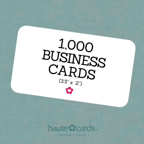 1000 custom business cards business cards custom by hautecards for Business cards 1000