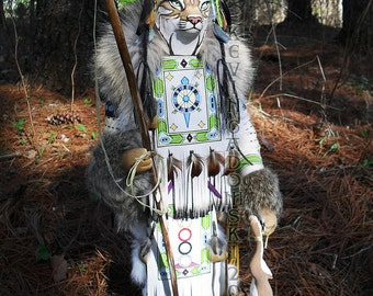 Bobcat Manitou (Spirit or Totem)