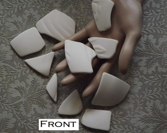 Broken pottery for jewelry or crafts