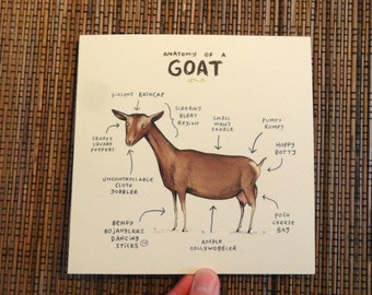 Anatomy Of A Goat Card