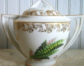 Vintage Limoges Sugar Bowl / Made in France