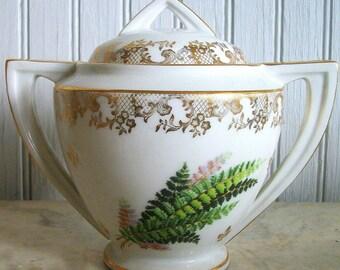 Vintage Limoges Sugar Bowl / Made in France