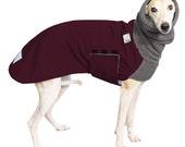 WHIPPET Winter Dog Coat, Winter Coat, Dog Coat, Dog Clothing