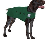 GERMAN SHORTHAIRED POINTER Tummy Warmer, Dog Clothing, Fleece Dog Coat, Dog Sweater