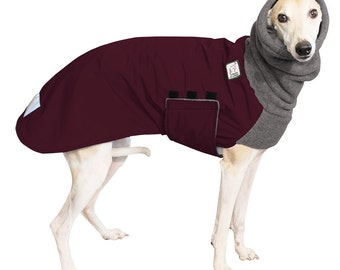 WHIPPET Winter Dog Coat, Winter Coat, Dog Coat, Dog Clothing