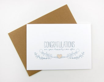 Happily Ever After: Wedding Card