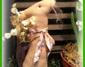 Primitive Rabbit, Prim Rabbit, Primitive Easter Rabbit, Easter bunny, Easter, primitive easter