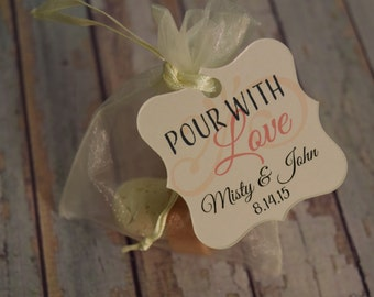 Personalized Custom Gift Tags, Wedding Favor Tag, Personalized Gift Tag
