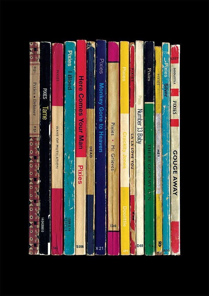 Pixies Doolittle Album As Penguin Books Poster Print