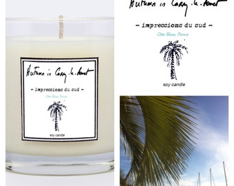XXL luxurious heartmade soy candle