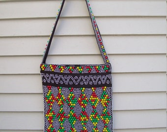 Funky 70s Bauble Bead Purse