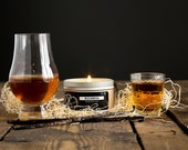 Bourbon Scented - 4 oz. Tin Soy Wax Candle