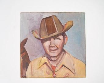 Original Painting--Cowboy