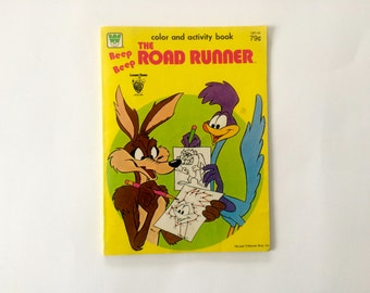 1981 Warner Brothers Looney Tunes Color and Activity Book