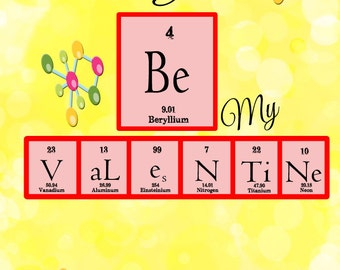 Außergewöhnlich Popular Items For Science Valentine On Etsy