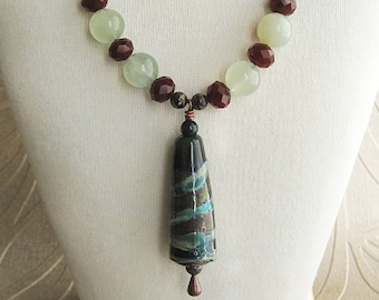 Green & Brown Copper Bell