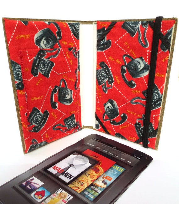 Vintage Book Cover Kindle : Dana girls kindle case made from vintage book by