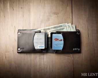Mens Christmas Gift Wallet, Boyfriend gift, Father gift, men's bifold wallet, men's bifold, Traditional 015