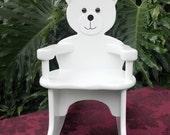 Teddy Bear Rocking Chair