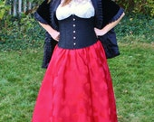 Red Hearts Ball Skirt - One Size Fits Most