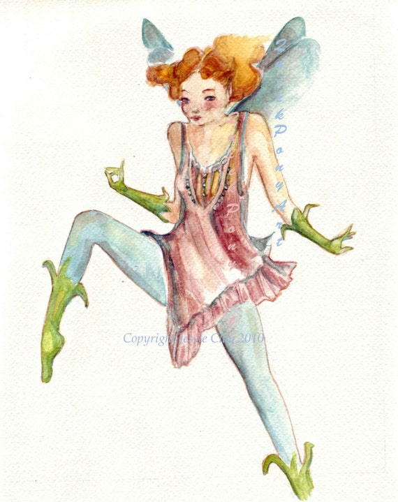Fairy Dancing to Song