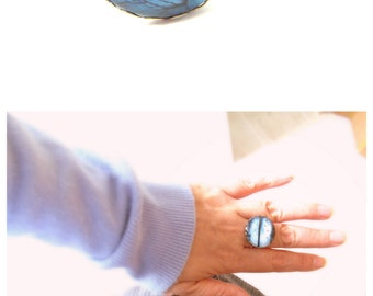 Photo ring , eco friendly Adjustable Ring ,eco friendly, free shipping
