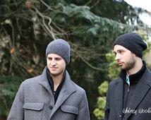 Men's Crochet Hat Pattern: 'Matt's Cap', Slouchy Beanie, Men's Fashion, Etsy Dudes