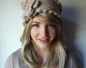 Crochet PATTERN -- Victorian Rose  Headband (Adult and child sizes)